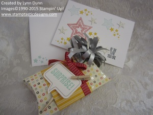 Made with the Be A Star Stamp Set