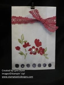 painted petals bag