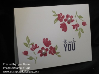 painted petals card